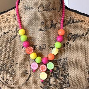 Vintage fun necklace